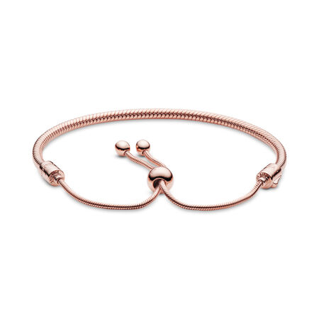 Moments Snake Chain Slider Bracelet