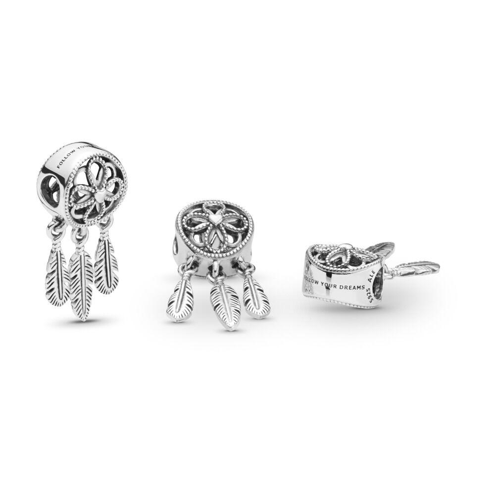 30062d855 Spiritual Dreamcatcher Dangle Charm, Sterling silver - PANDORA - #797200