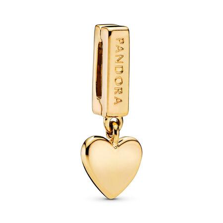 PANDORA Reflexions™ Floating Heart Charm, PANDORA Shine™