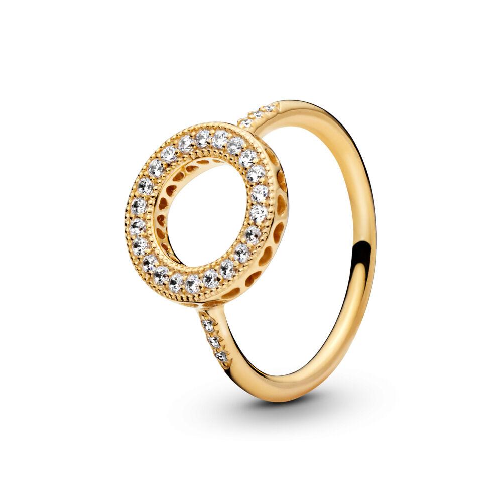 8e33002d4 Hearts of PANDORA Halo Ring, PANDORA Shine™