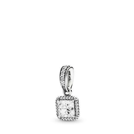 Timeless Elegance, Clear CZ, Sterling silver, Cubic Zirconia - PANDORA - #390378CZ