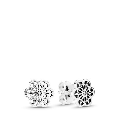 Floral Daisy Lace, Sterling silver - PANDORA - #290692