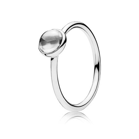 b4a959687 Poetic Droplet, Clear CZ | PANDORA Jewellery Online Store