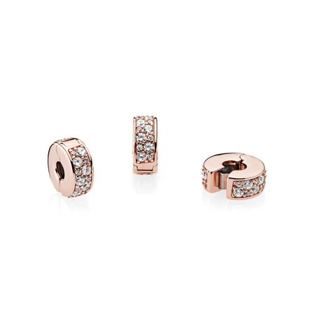 Shining Elegance, PANDORA Rose™ & Clear CZ