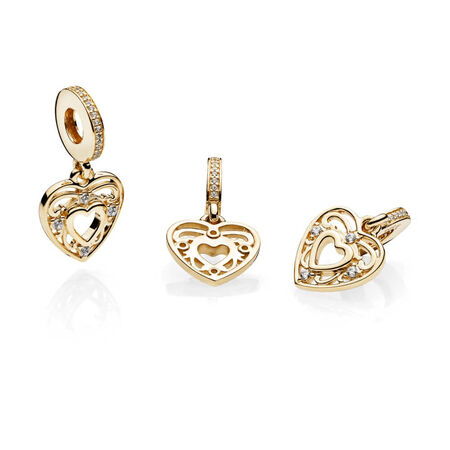 Romantic Heart, Clear CZ