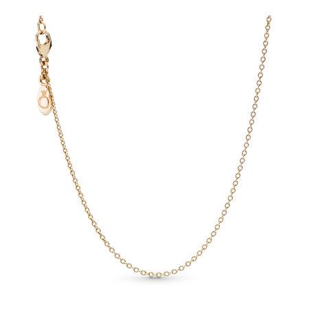 Necklace Chain, 14K Gold, Yellow Gold 14 k - PANDORA - #550331