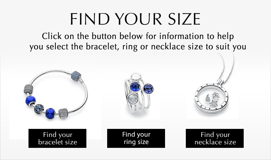 Click below to learn more about our Jewelry Size Guides