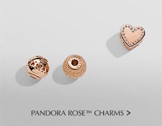 Pandora Rose Charms.