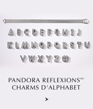 Pandora Reflexions Charms d'Alphabet