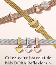 Créez votre bracelet de Pandora Reflexions