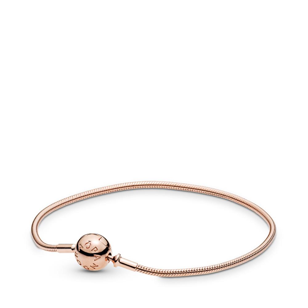 Bracelet fin ESSENCE et PANDORA RoseMC, PANDORA ROSE, Aucun autre matériel, Aucune couleur, Aucune pierre - PANDORA - #586000
