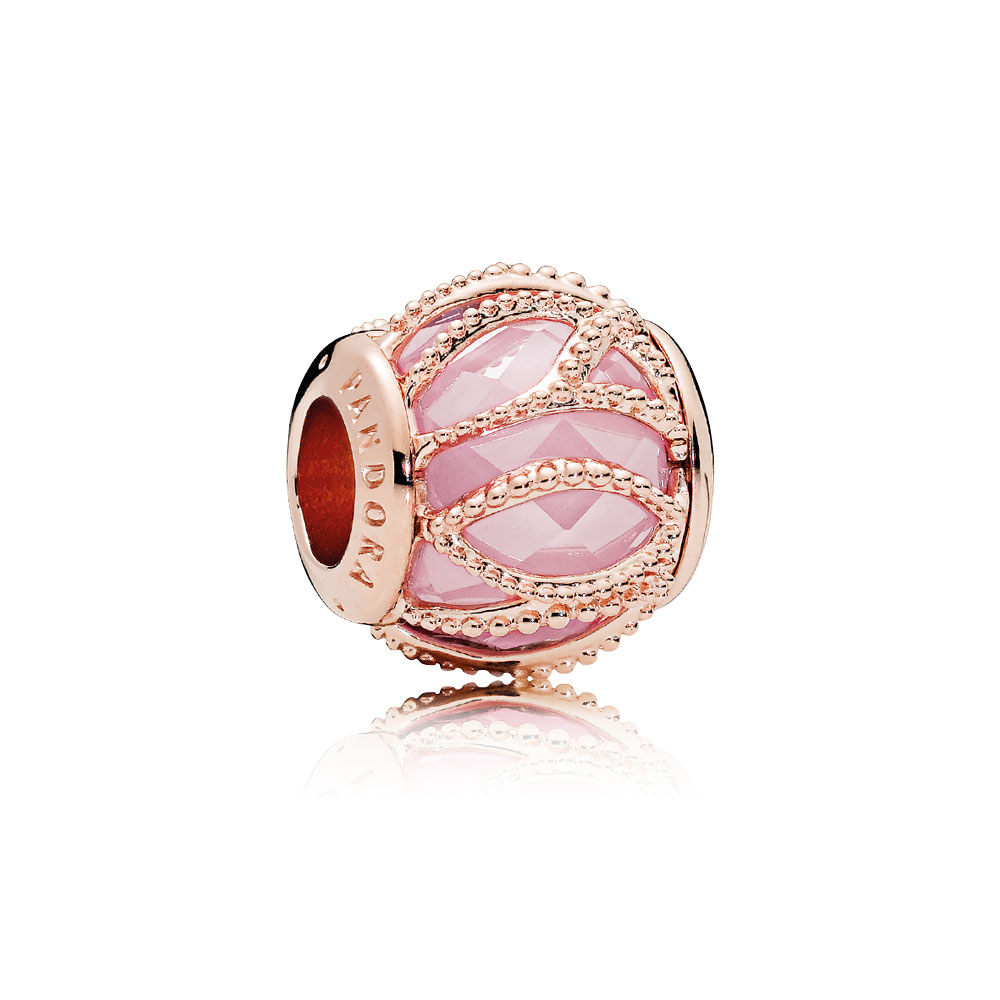 Intertwining Radiance, PANDORA Rose™ & Pink CZ