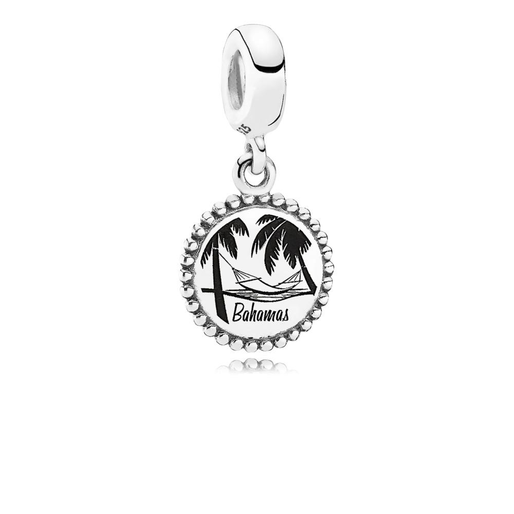 Bahamas, Sterling silver - PANDORA - #USB791169-G058