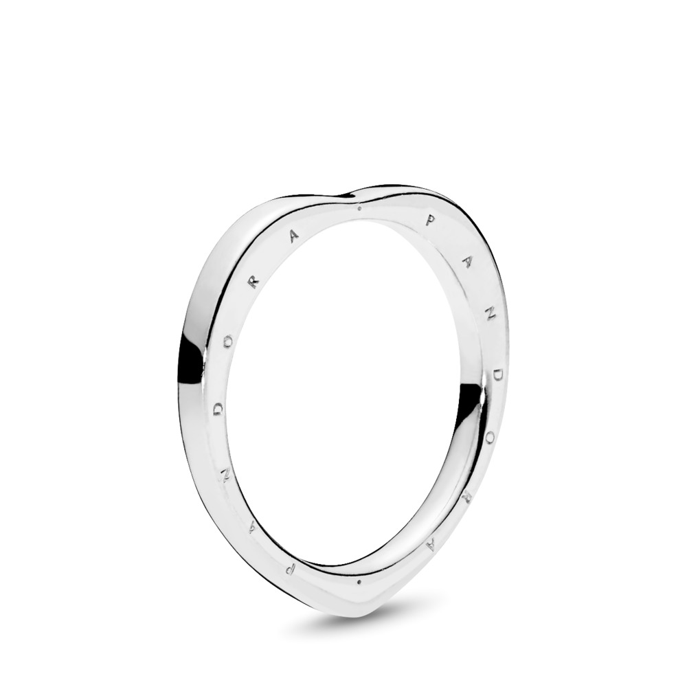 PANDORA Signature Arcs of Love Ring, Sterling silver - PANDORA - #197379