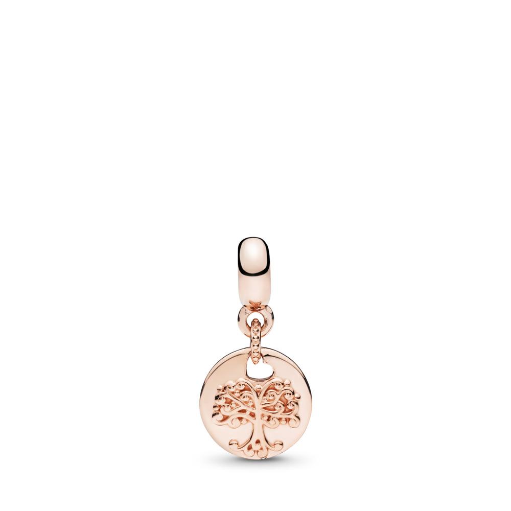 Charm pendentif ESSENCE Dans mon cœur, PANDORA Rose et cz incolore, PANDORA ROSE, Aucun autre matériel, Aucune couleur, Aucune pierre - PANDORA - #787646