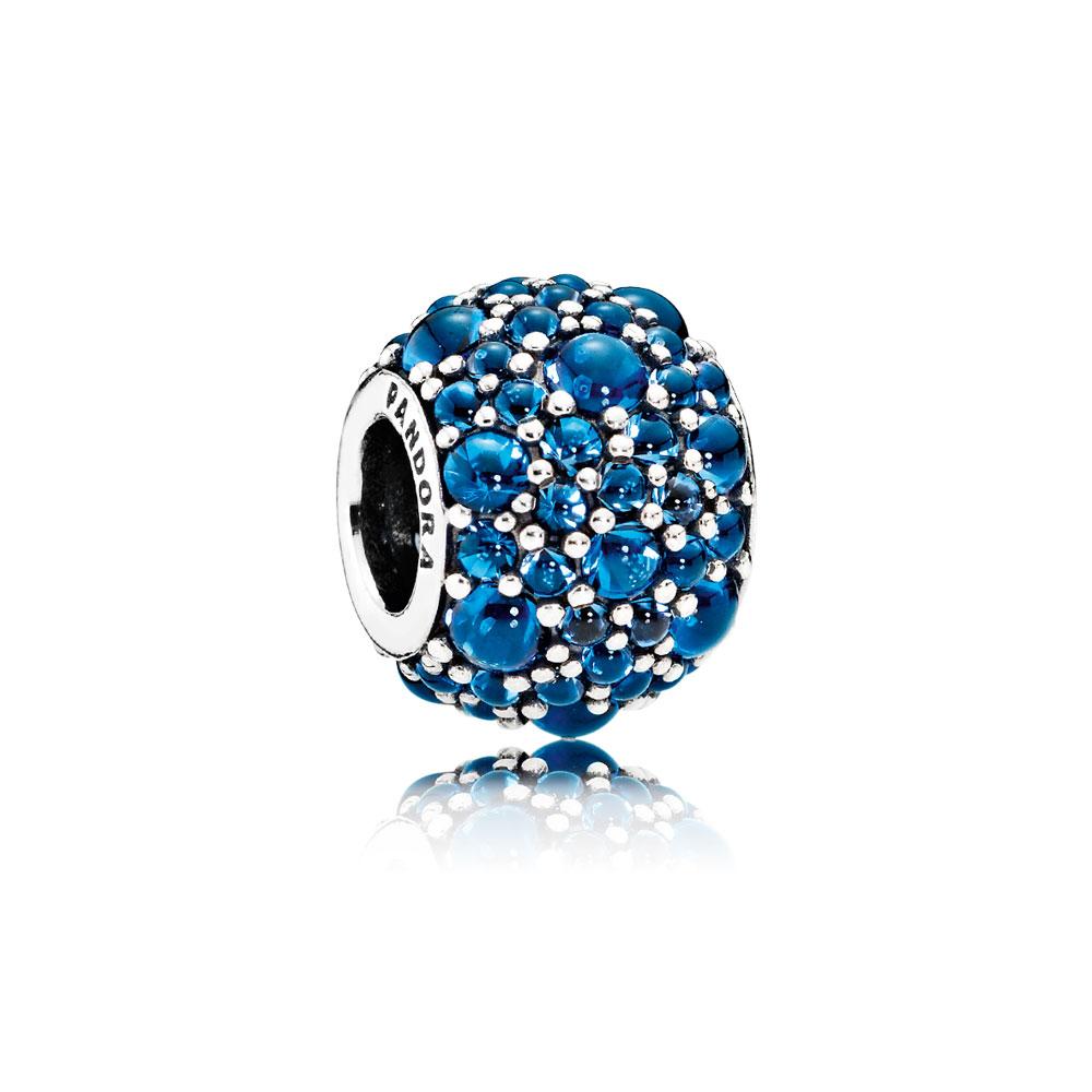 Shimmering Droplets, London Blue Crystal