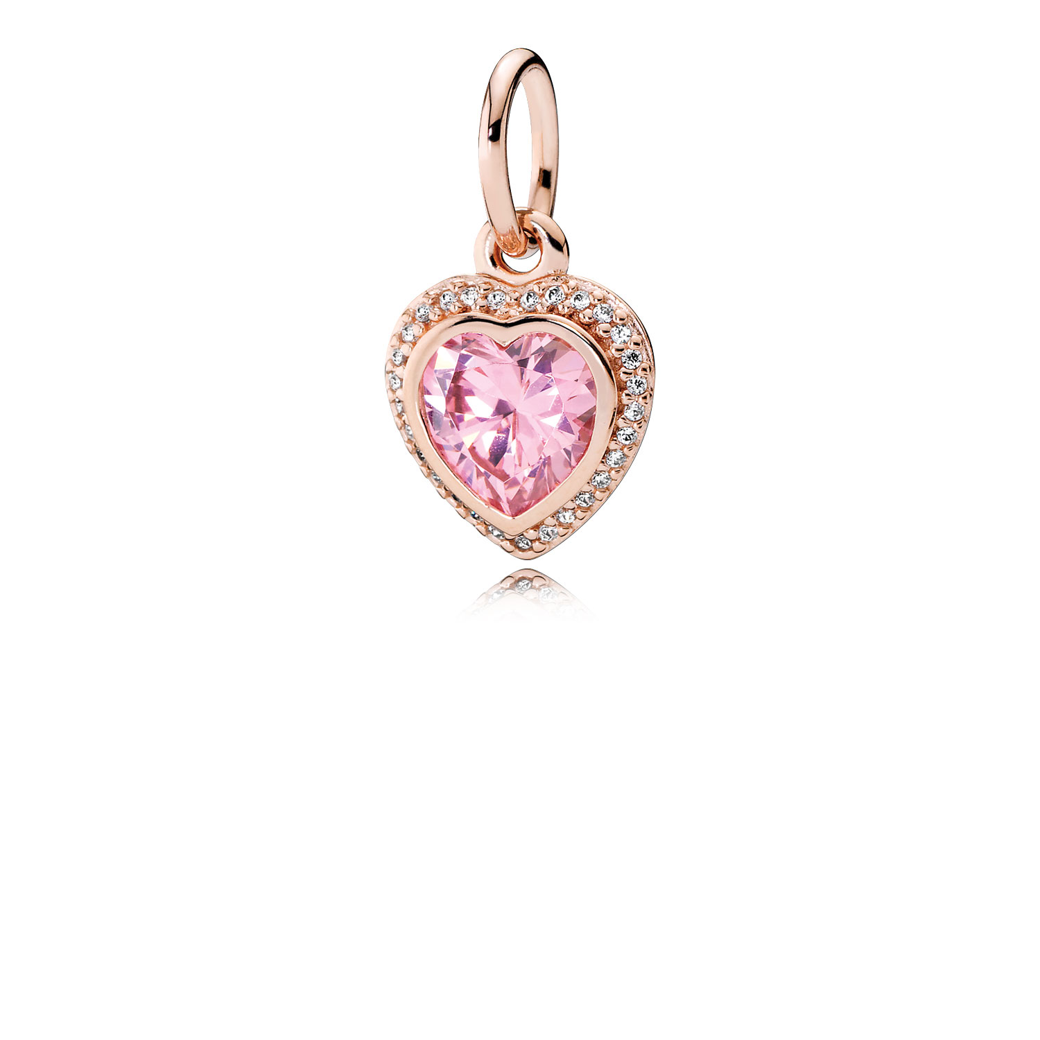 Sparkling Love PANDORA Rose™ & Pink & Clear CZ