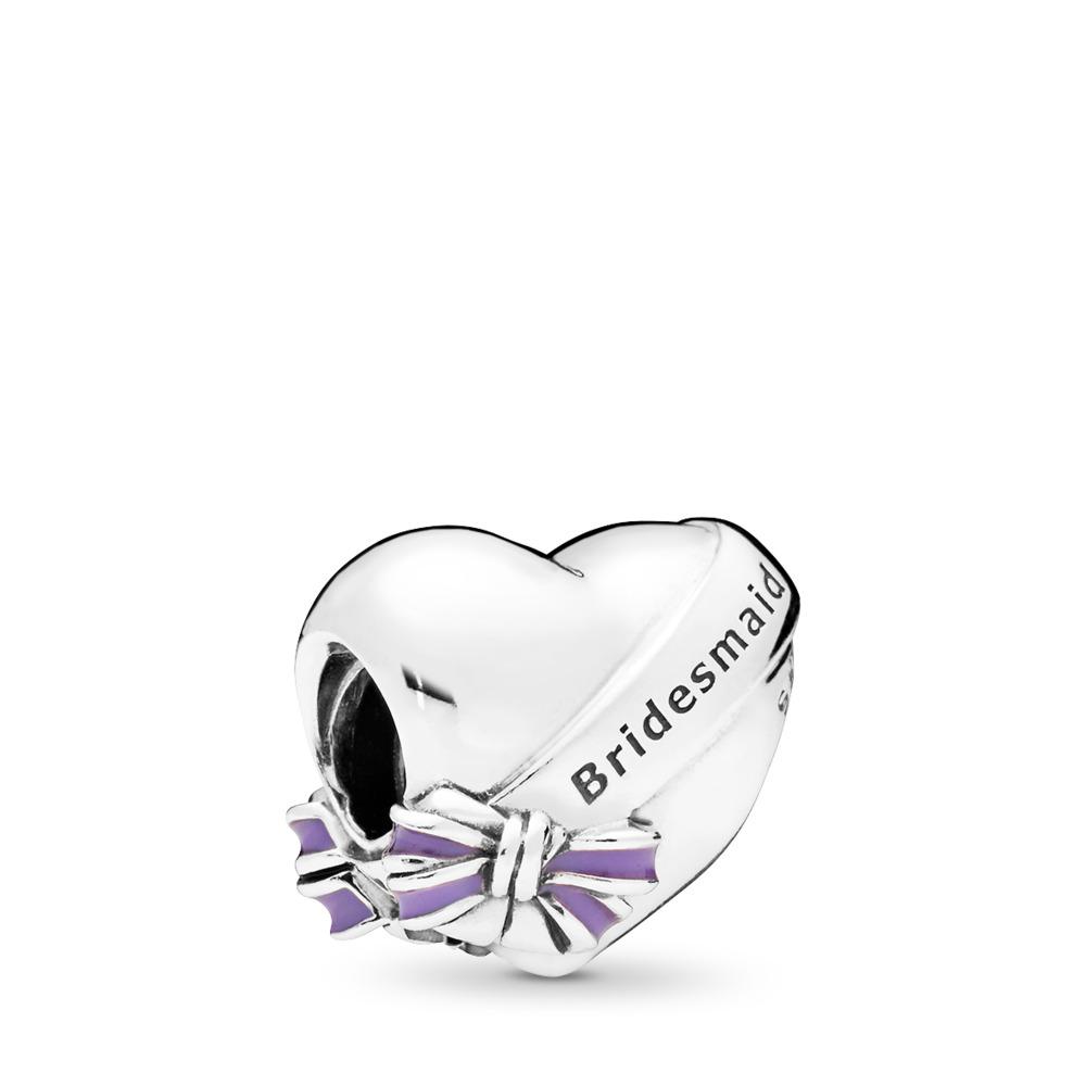 Charm Ma demoiselle d'honneur, émail mauve transparent, Argent sterling, émail, Mauve, Aucune pierre - PANDORA - #797272EN159
