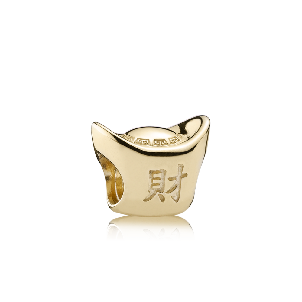 Gold Ingot, 14K Gold