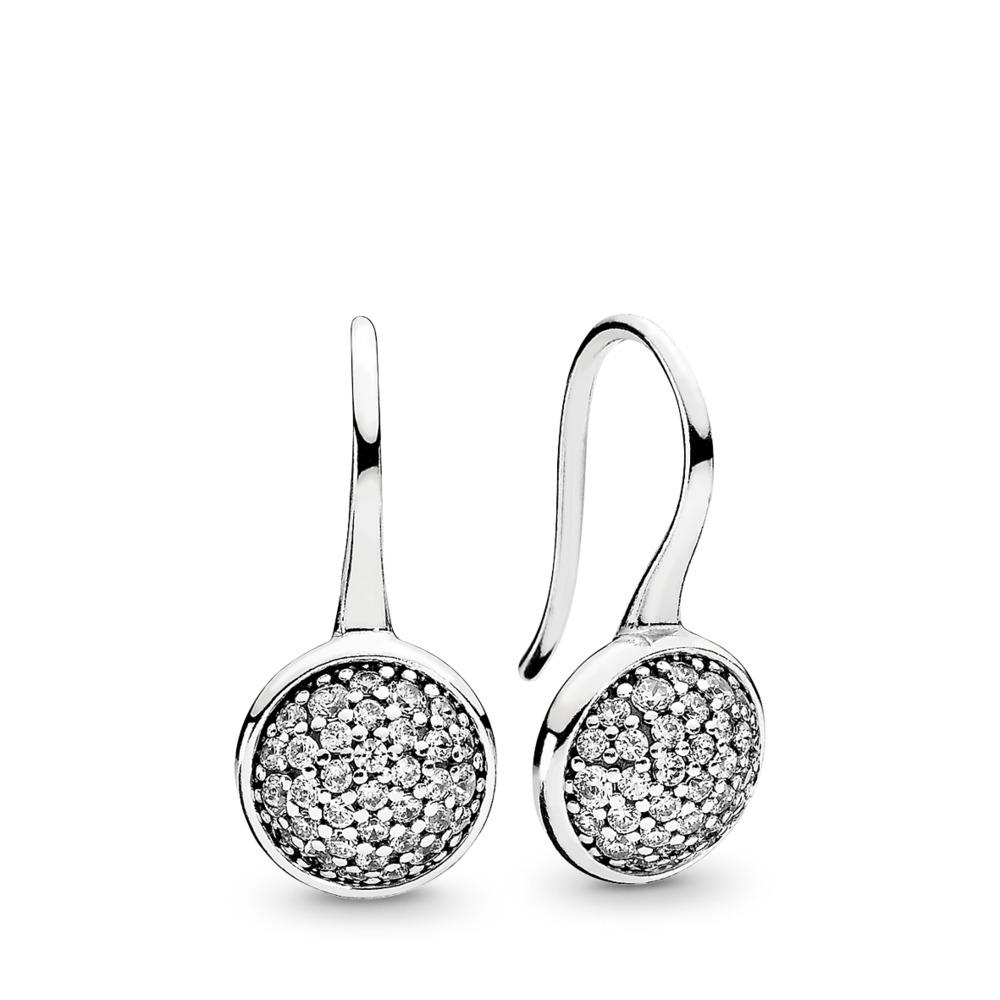 Dazzling Droplets, Clear CZ, Sterling silver, Cubic Zirconia - PANDORA - #290734CZ