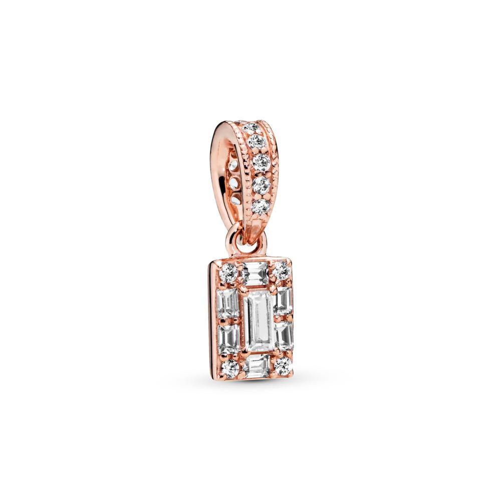 Pendentif Glace lumineuse, PANDORA Rose, PANDORA ROSE, Aucun autre matériel, Aucune couleur, Zircon cubique - PANDORA - #387543CZ