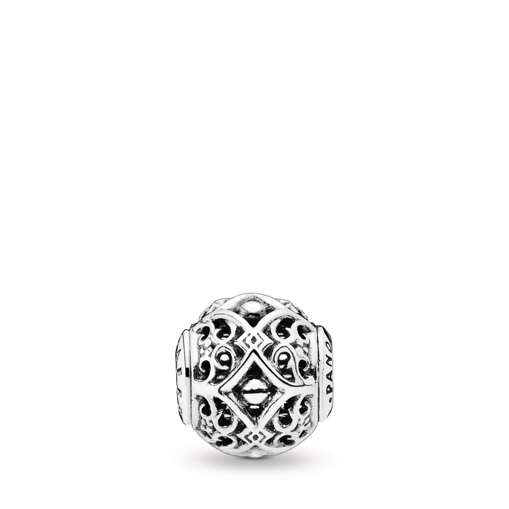AFFECTION, Sterling silver, Silicone - PANDORA - #796056