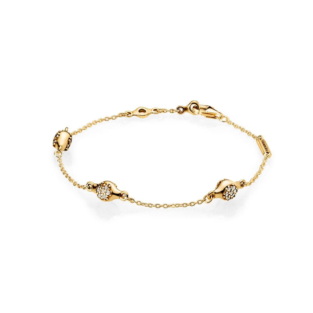 Modern LovePods™ PANDORA Shine™ Bracelet, Clear CZ
