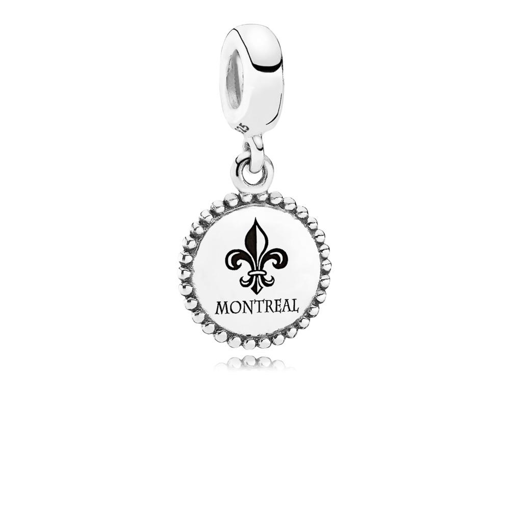 Montreal, Sterling silver - PANDORA - #USB791169-G054
