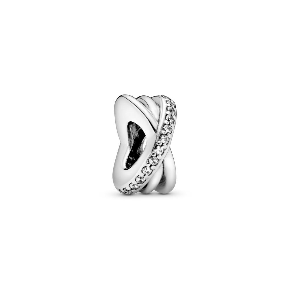 Galaxy, Clear CZ, Sterling silver, Cubic Zirconia - PANDORA - #791994CZ