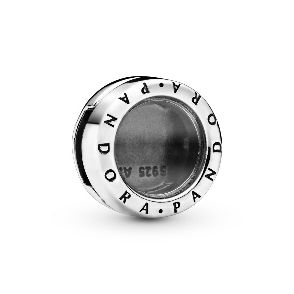 PANDORA Reflexions™ Floating Locket Charm, Sterling silver, Glass - PANDORA - #797755