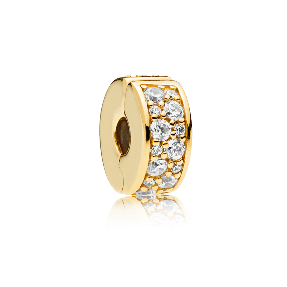 Shining Elegance Clip, PANDORA Shine™ & Clear CZ