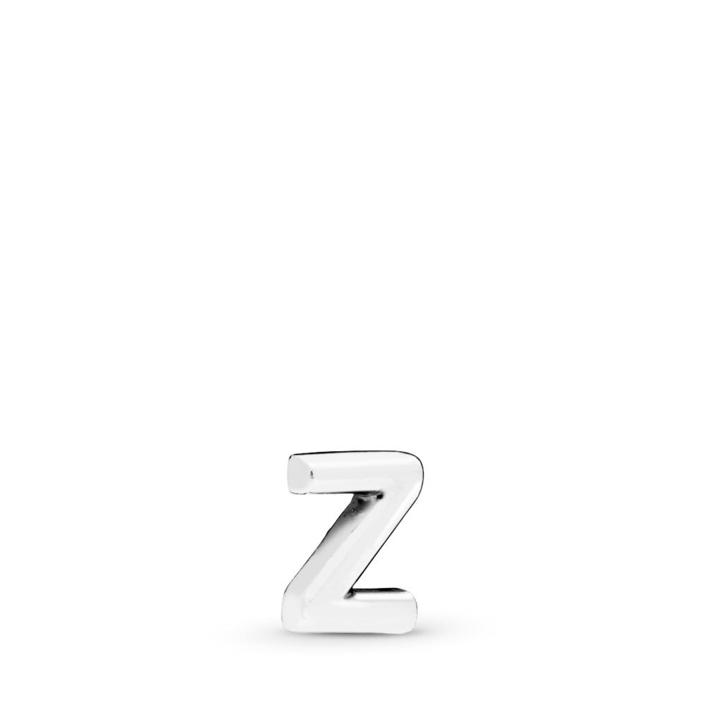 Letter Z Petite Charm, Sterling silver - PANDORA - #797344