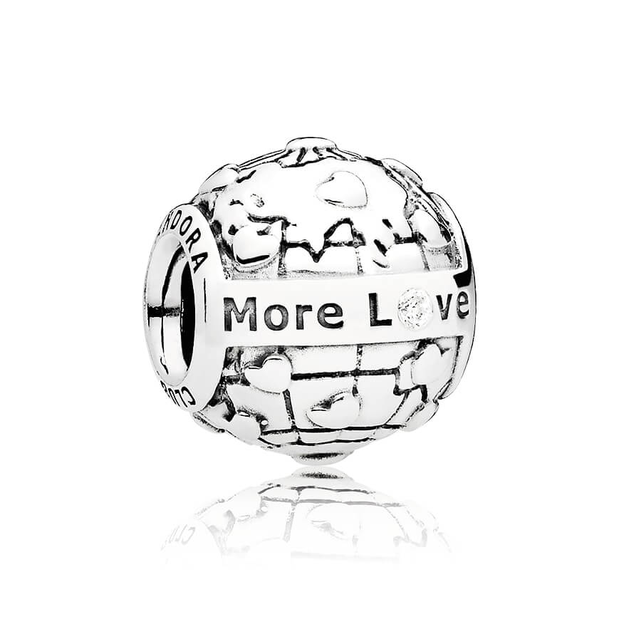 Charm du Club PANDORA 2018, diamant 0,01 ct TW h/vs