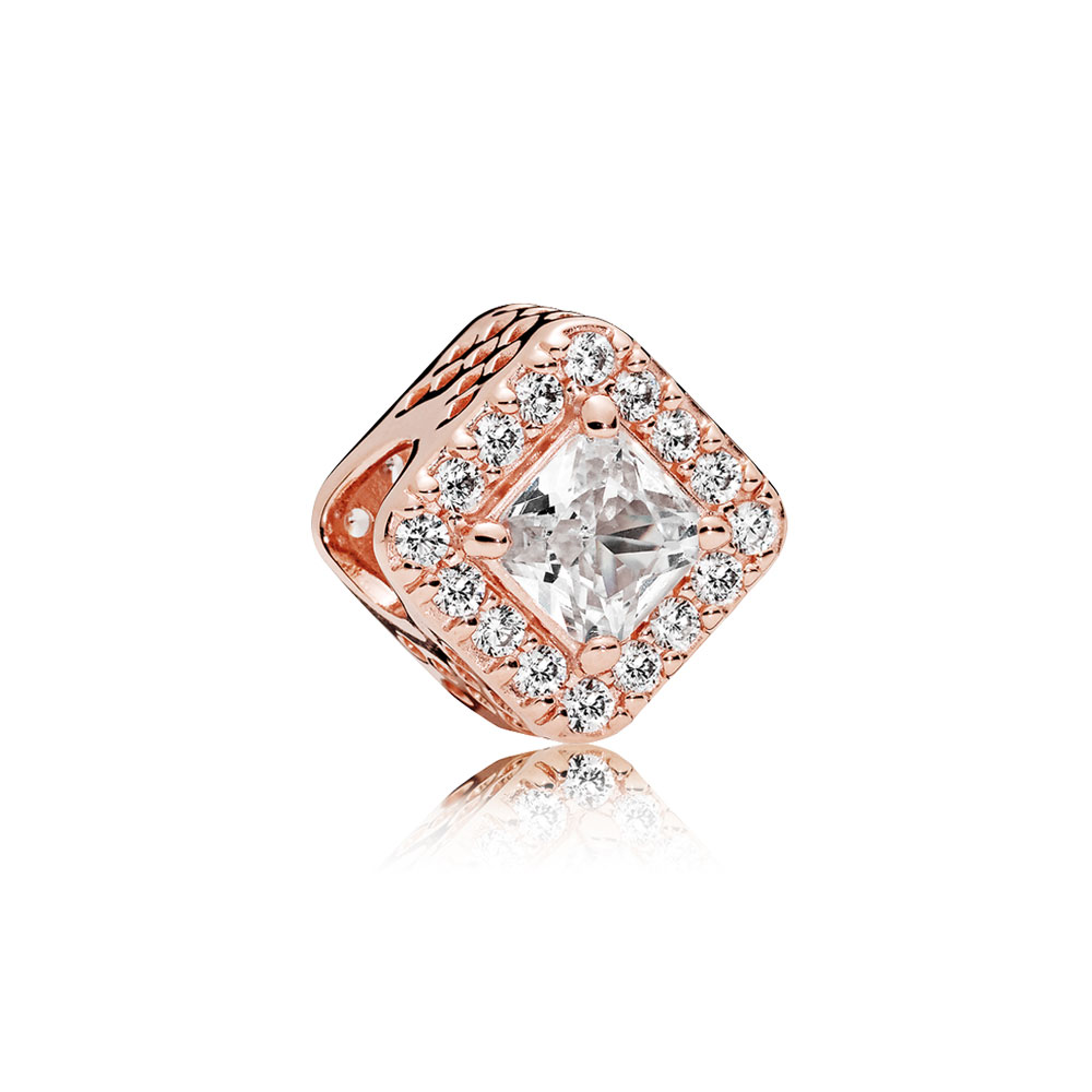 Geometric Radiance, PANDORA Rose™ & Clear CZ