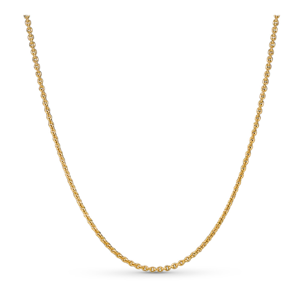 Pandora Shine™ Necklace, 18ct gold-plated sterling silver - PANDORA - #367991