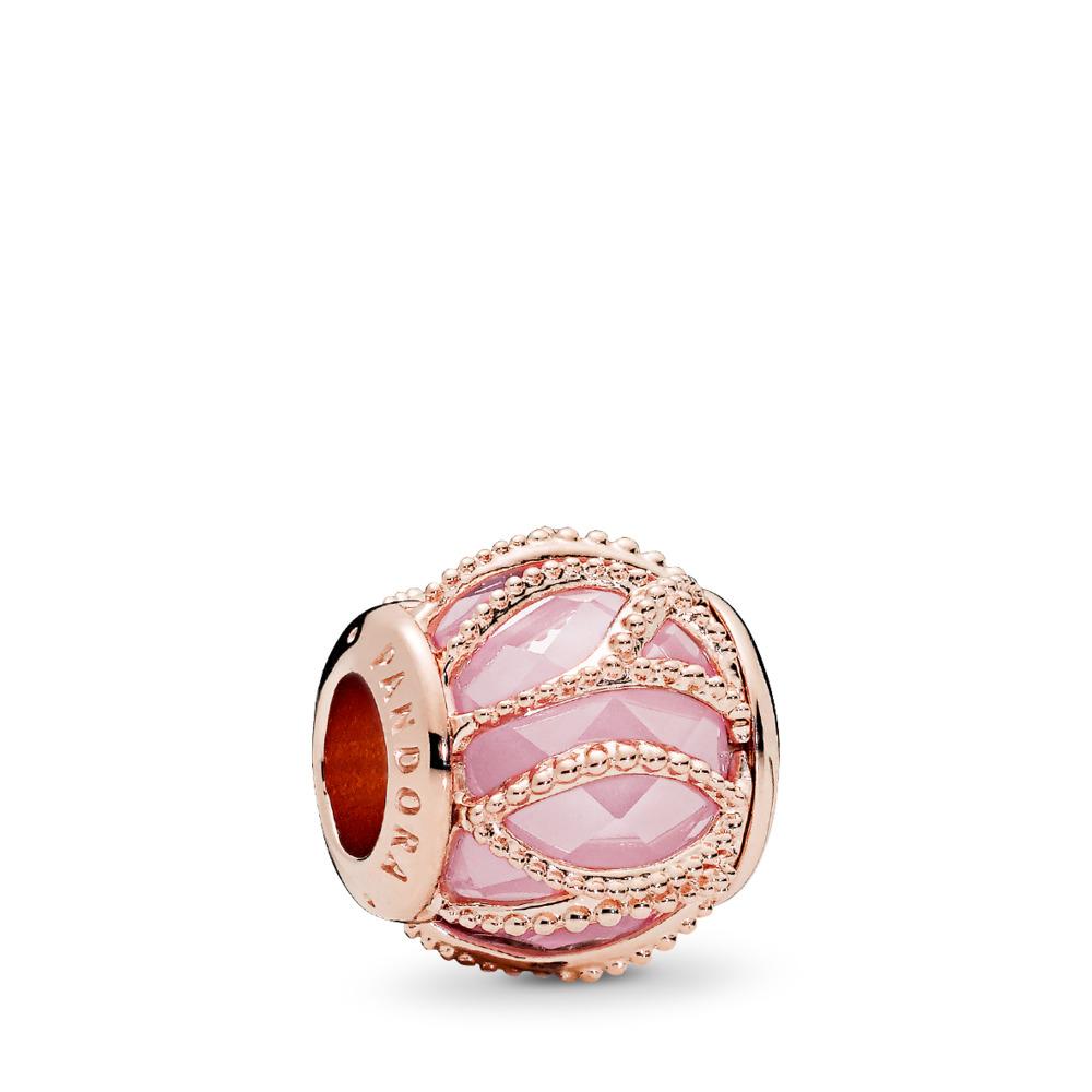 Intertwining Radiance, PANDORA Rose™ & Pink CZ, PANDORA Rose, Pink, Cubic Zirconia - PANDORA - #781968PCZ