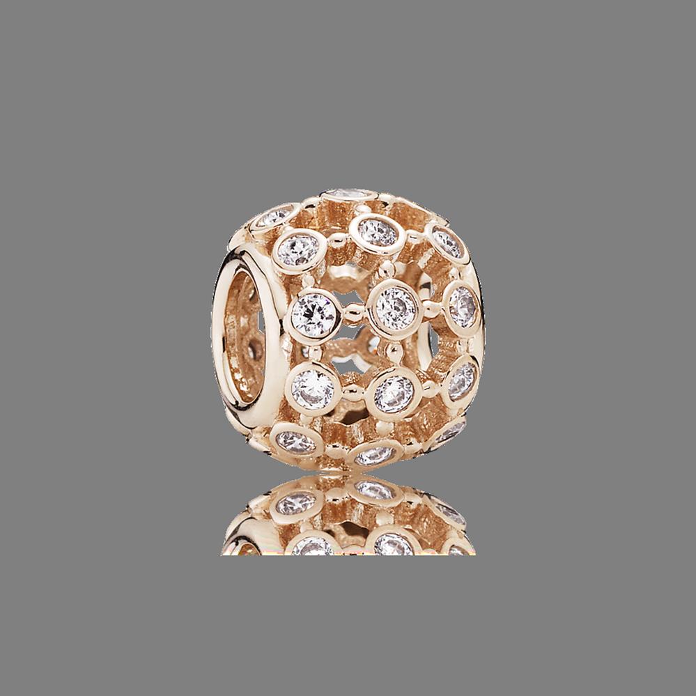 En vedette, PANDORA Rose, cz incolore