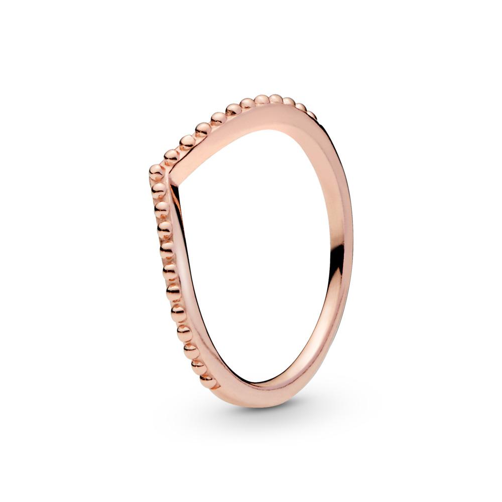Beaded Wish Ring, PANDORA Rose™, PANDORA Rose - PANDORA - #186315
