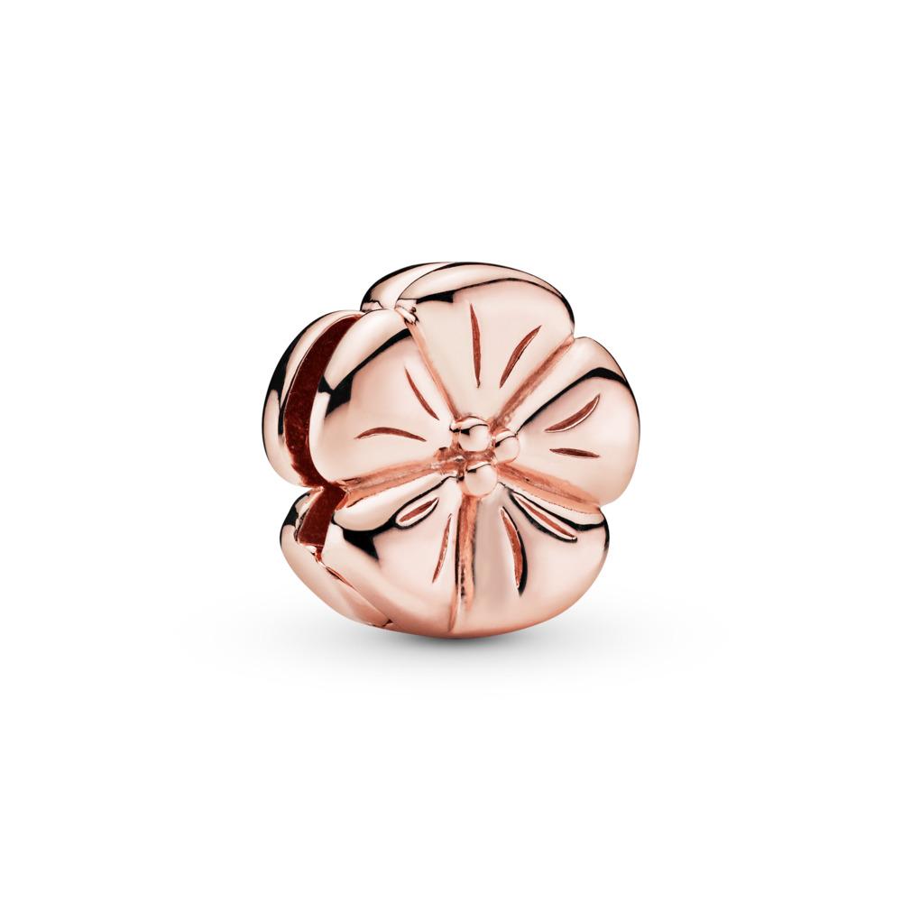 Pandora Reflexions™ Classic Flower Charm, PANDORA Rose, Silicone - PANDORA - #787897