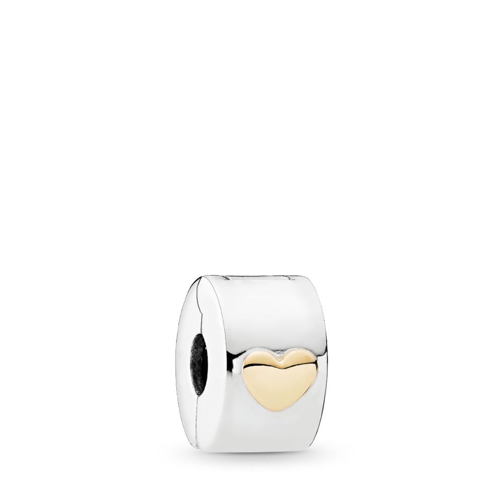 Cœur classique, Deux Tons, Aucun autre matériel, Aucune couleur, Aucune pierre - PANDORA - #792080