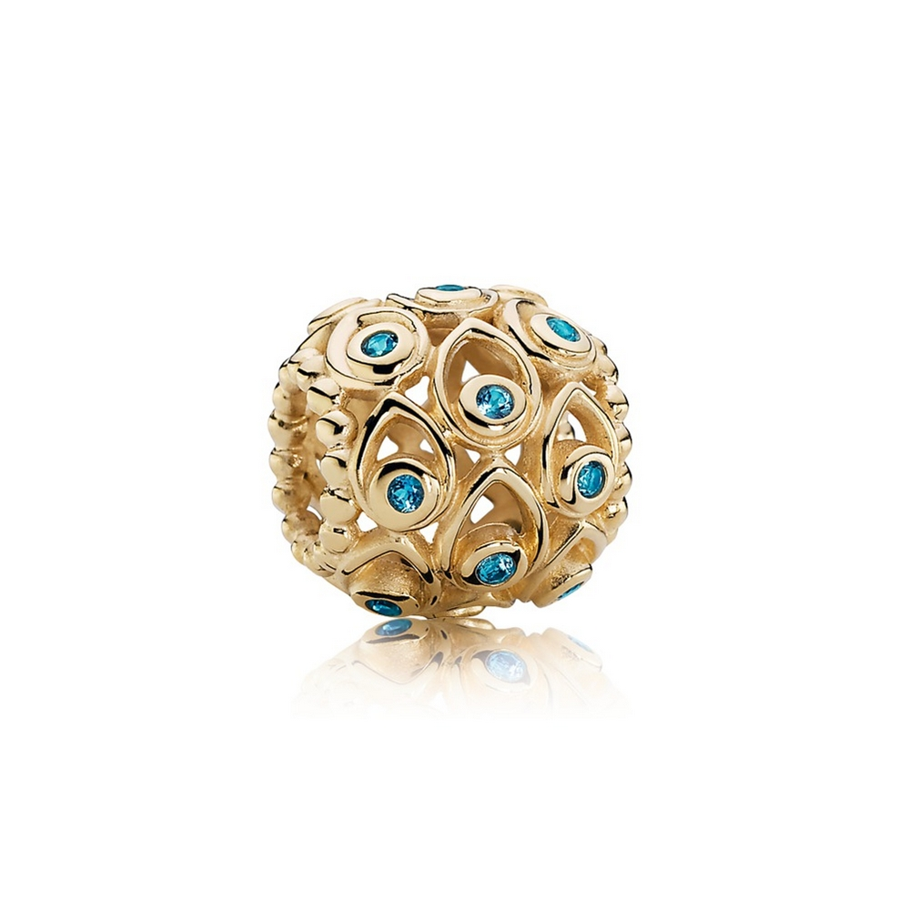 Ocean Treasures, Deep Blue Topaz & 14K Gold