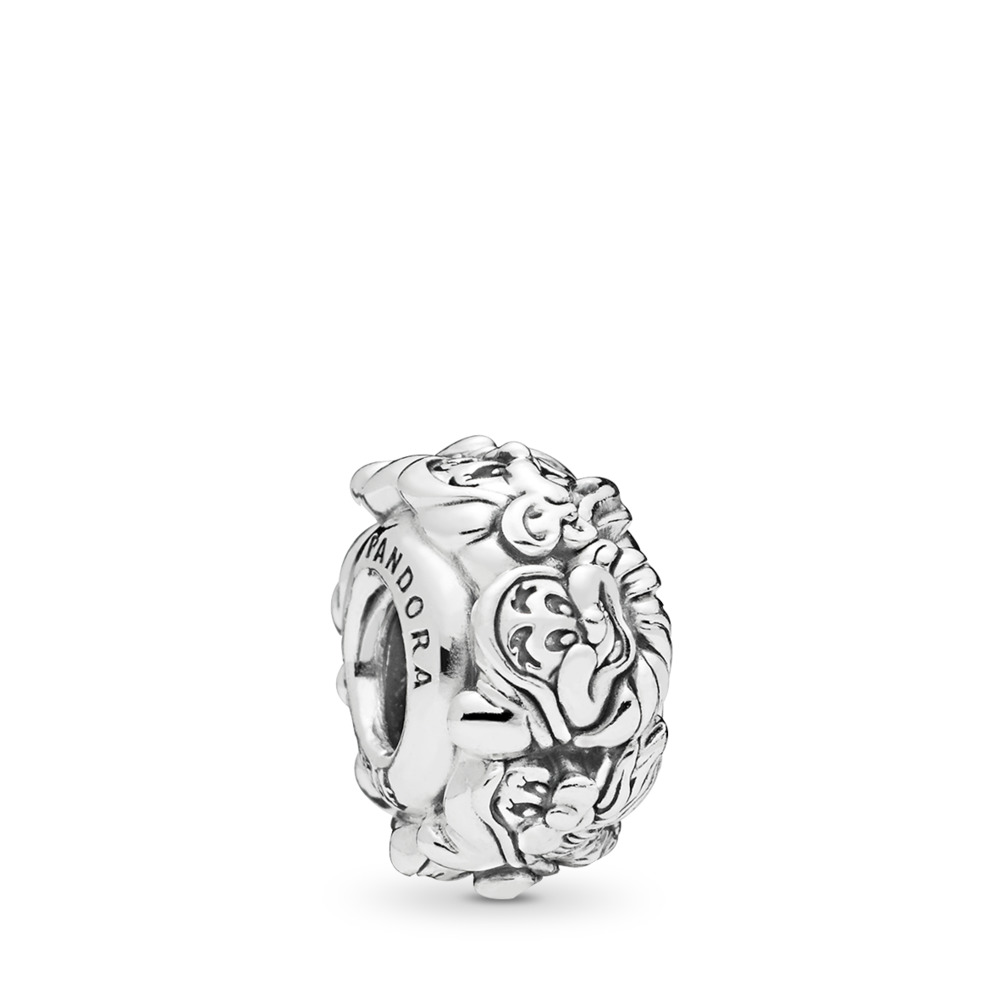 Disney, The Seven Dwarfs All Around Spacer, Sterling silver - PANDORA - #797491