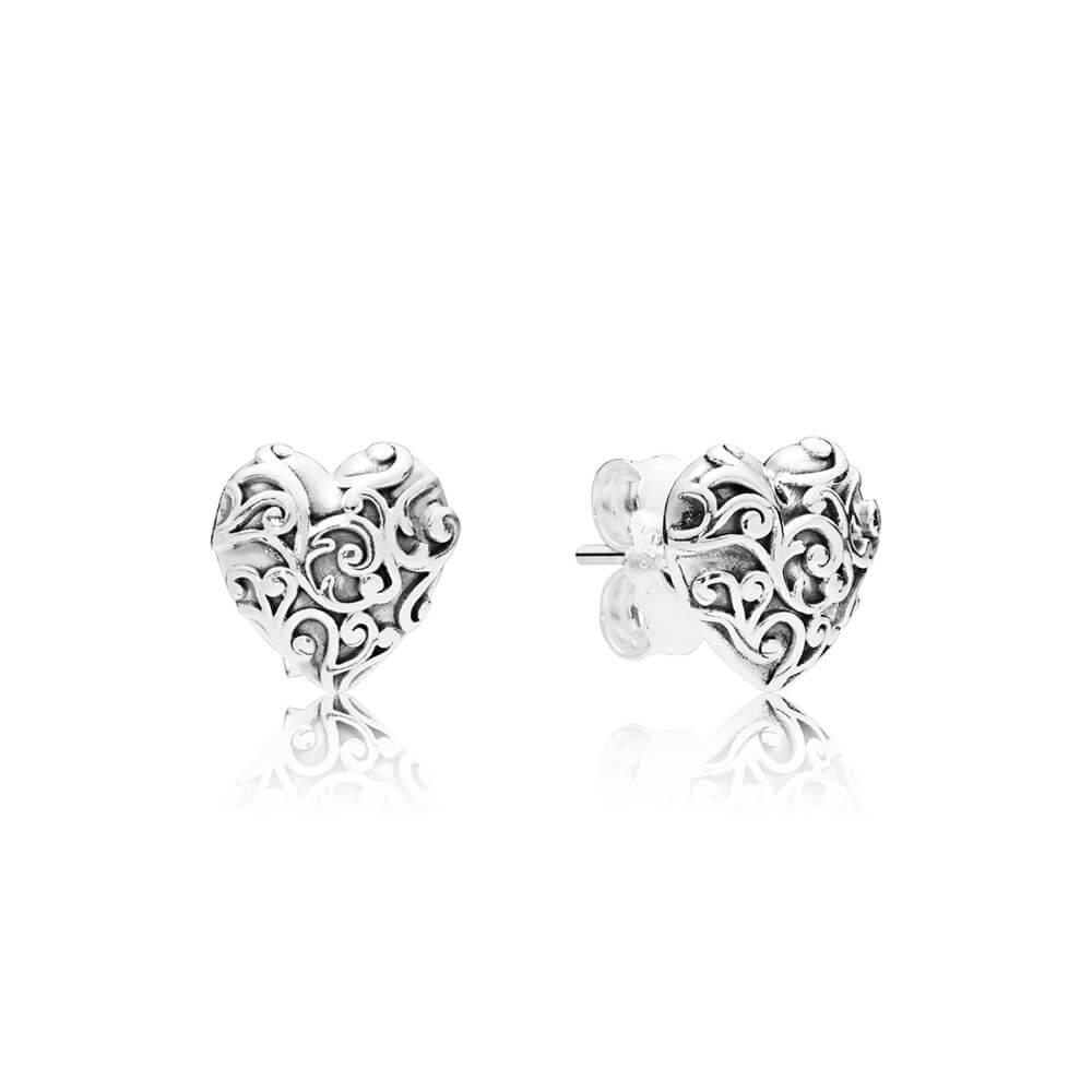 Regal Hearts Earrings