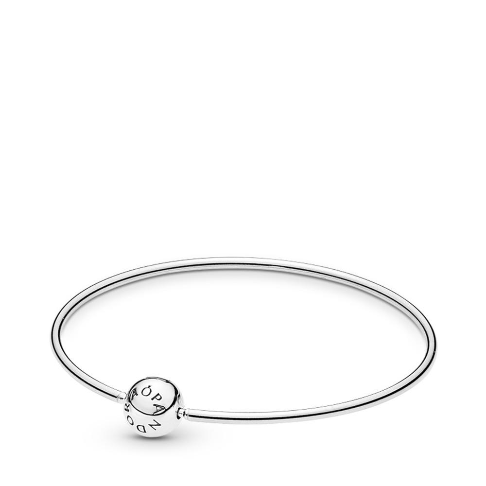 Bracelet rigide ESSENCE, Argent sterling, Aucun autre matériel, Aucune couleur, Aucune pierre - PANDORA - #596006