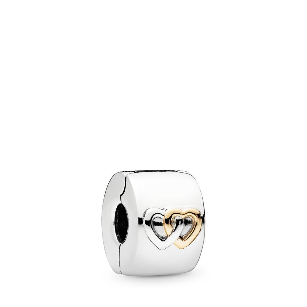 Cœurs illuminés, Deux Tons, Aucun autre matériel, Aucune couleur, Aucune pierre - PANDORA - #796266