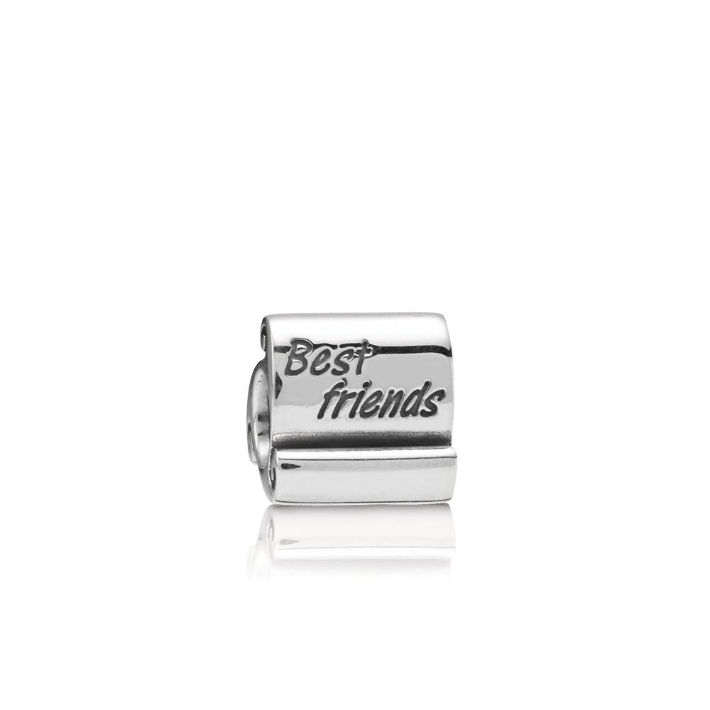 Best Friends Scroll, Sterling silver - PANDORA - #790512