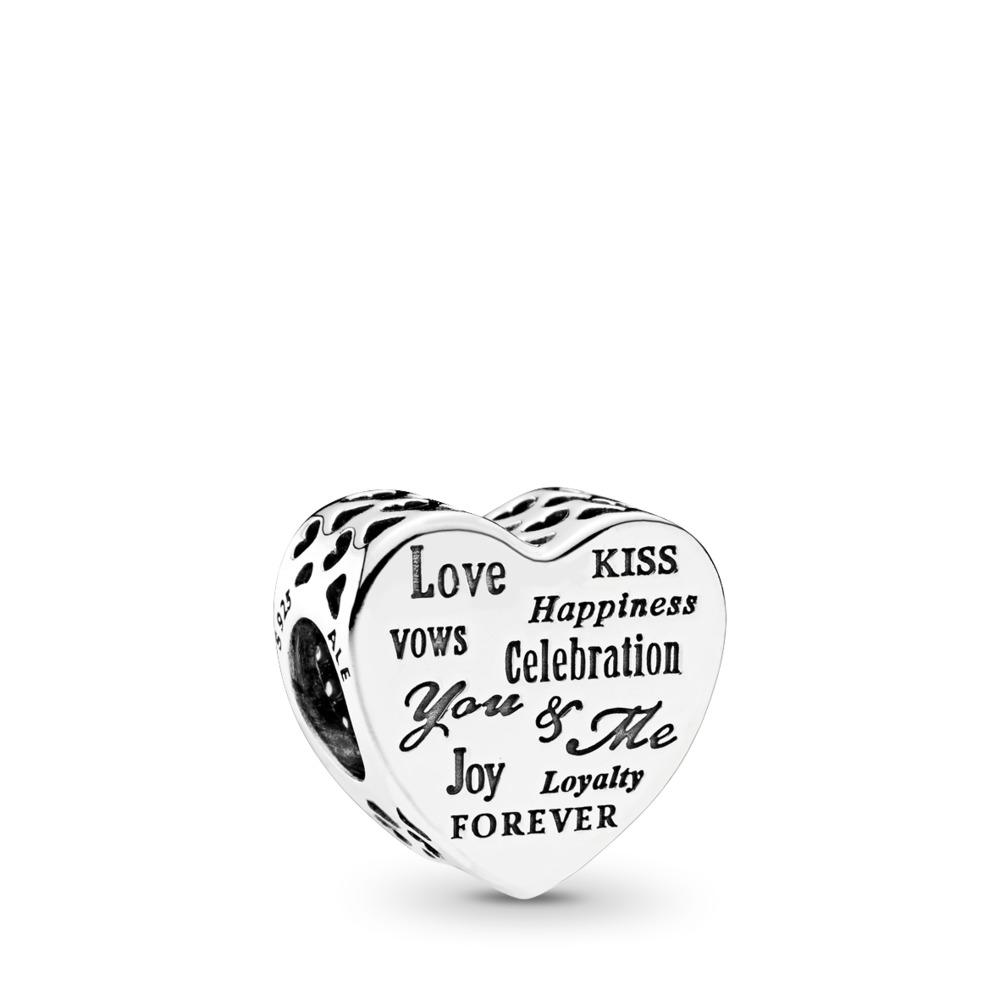 Cœur de célébration, Argent sterling, Aucun autre matériel, Aucune couleur, Aucune pierre - PANDORA - #792060