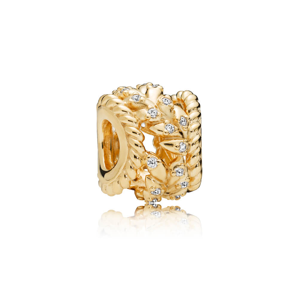 Charm Tourbillon de grains scintillants, PANDORA Shine et cz incolore