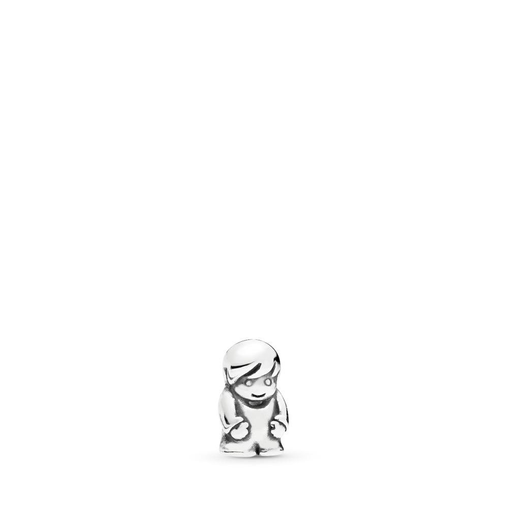 Little Boy Petite, Sterling silver - PANDORA - #796311