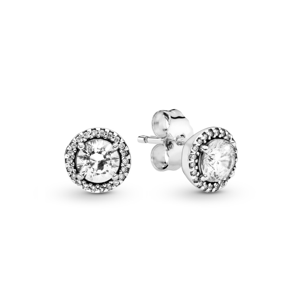 56ab9dff8 Round Sparkle Stud Earrings